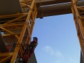 Work at height and rescue training at shipyard in Belfast Harbour