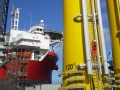 ARCH delivers work at height and rescue training for onshore and offshore T-piece access - D1 site, Belfast