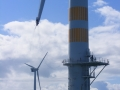 IRATA L3 safety supervision for blade repair project at Arklow Bank Wind Farm, Ireland